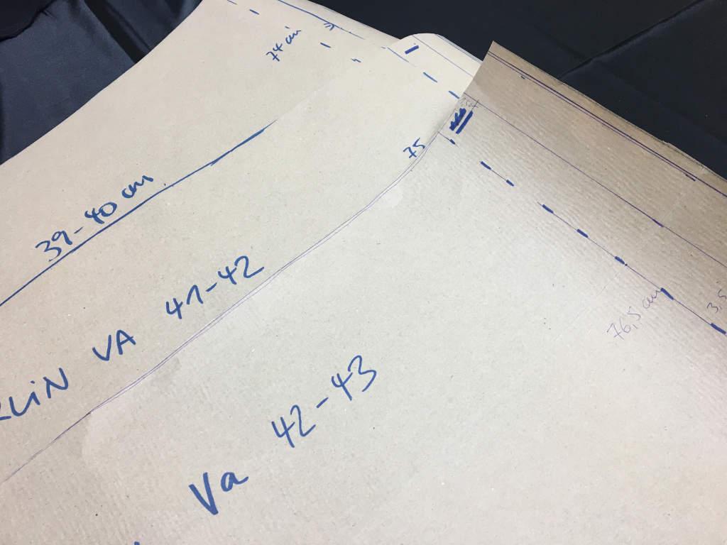 Pattern blueprint for ViolinBags