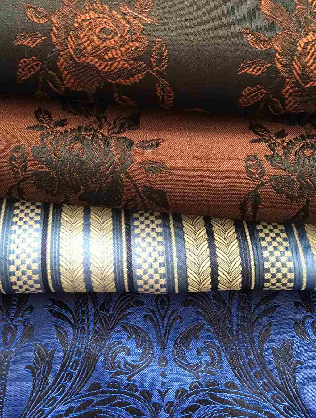 traditional Austrian silk brocade for Dirndl